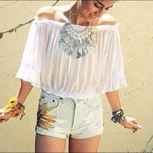 LF Sunflower Shorts